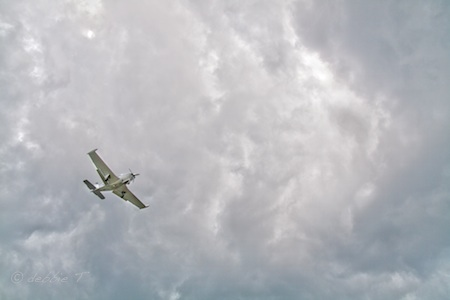 flying a plane to heaven